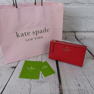AUTHENTIC NWT KATE SPADE Slim Bifold Wallet